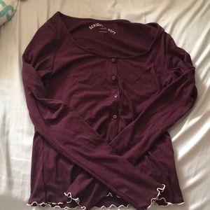 Burgundy Seriously Soft Shirt